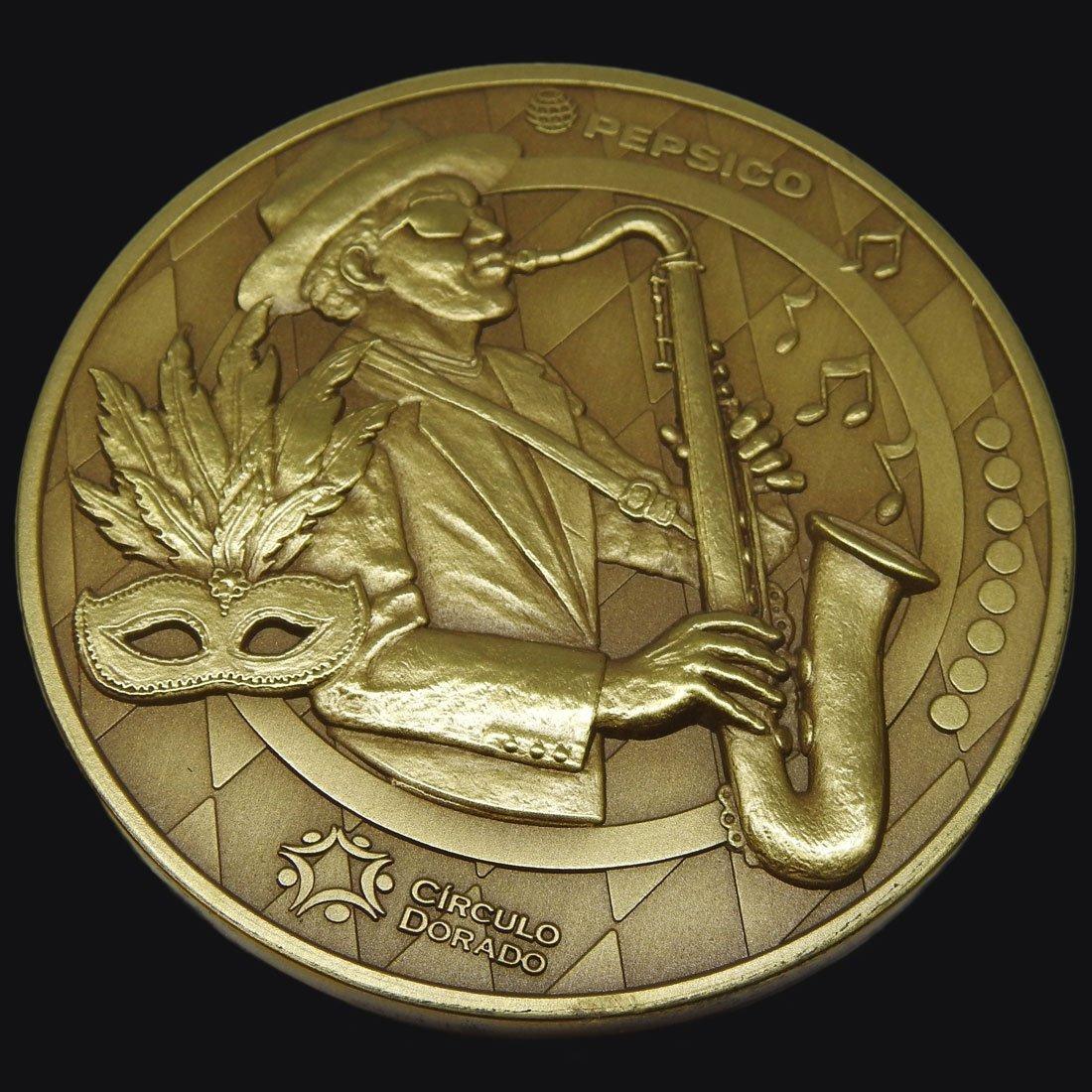 Medalla Empresarial Nueva Orleans Pepsico